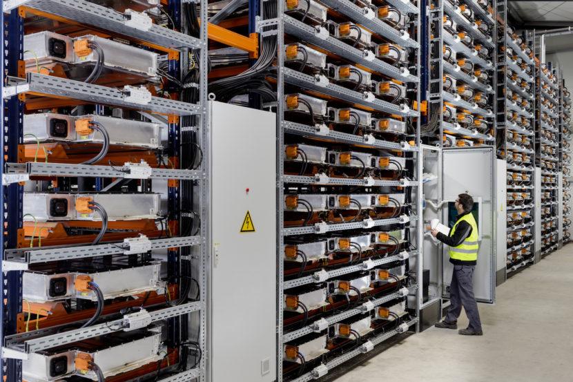 BMW Leipzig i3 Battery Storage 830x553