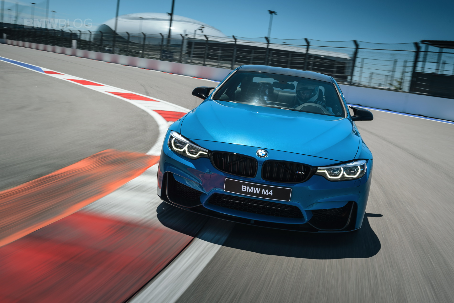 BMW M4 Speed Yellow Laguna Seca Blue 14