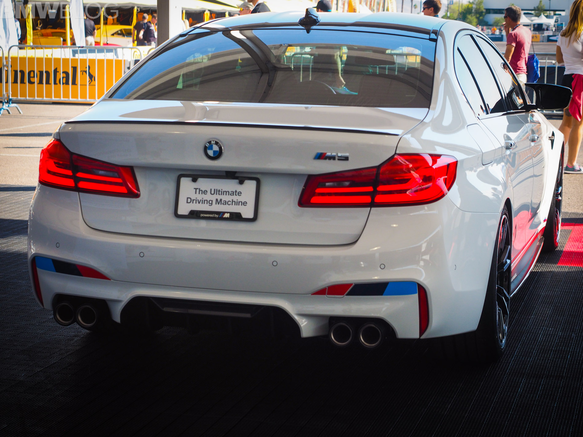 2017 sema live photos bmw f90 m5 with m performance parts. Black Bedroom Furniture Sets. Home Design Ideas
