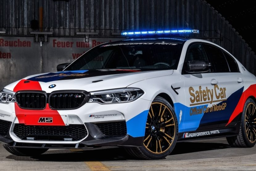 BMW M5 MotoGP Safety Car 1 830x553