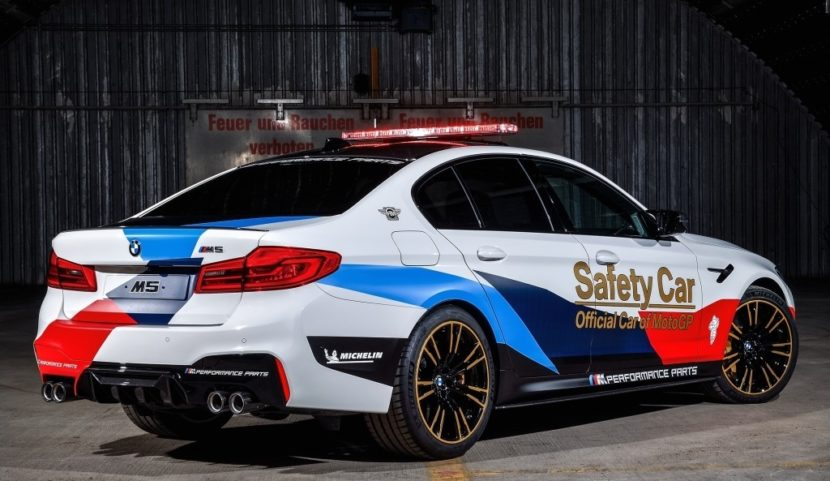 BMW M5 MotoGP Safety Car 2 830x481
