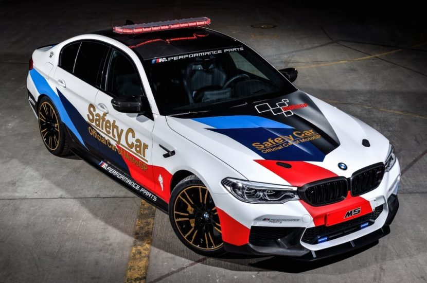 BMW M5 MotoGP Safety Car 3 830x550