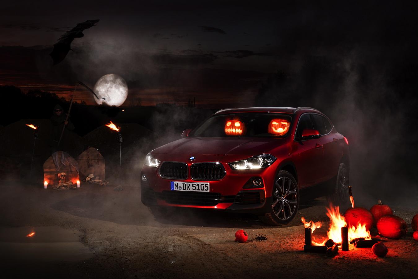BMW X2 Halloween 01