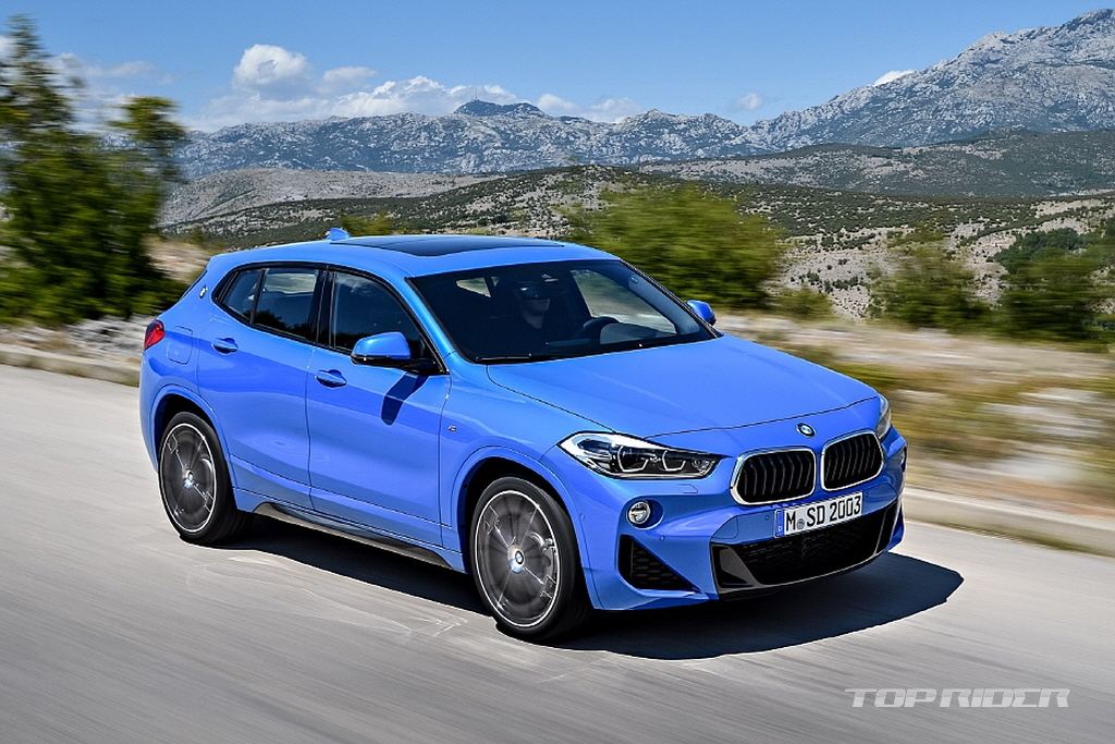 Alot Of Cars >> LEAKED: The new BMW X2