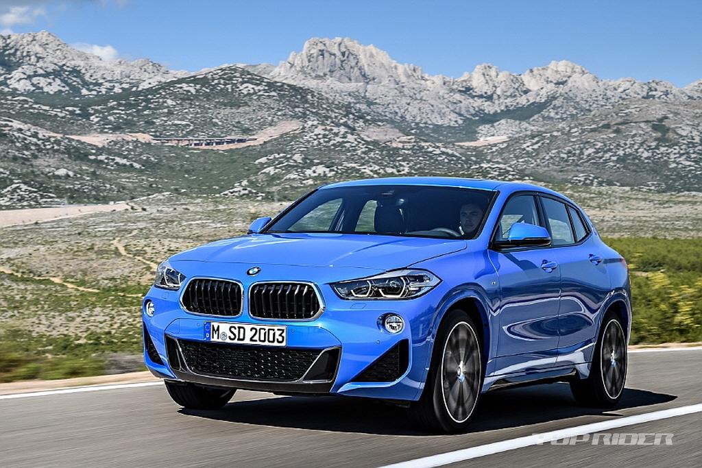 BMW X2 Leaked 7