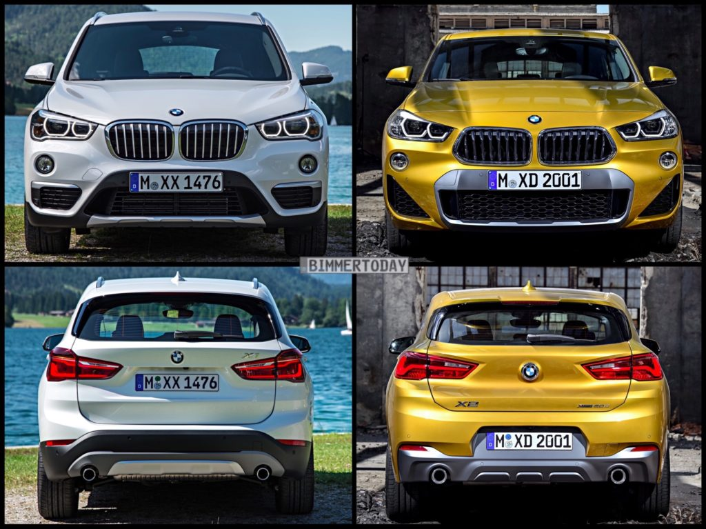 Bmw X1 Vs X3 >> Photo Comparison: BMW X2 vs BMW X1