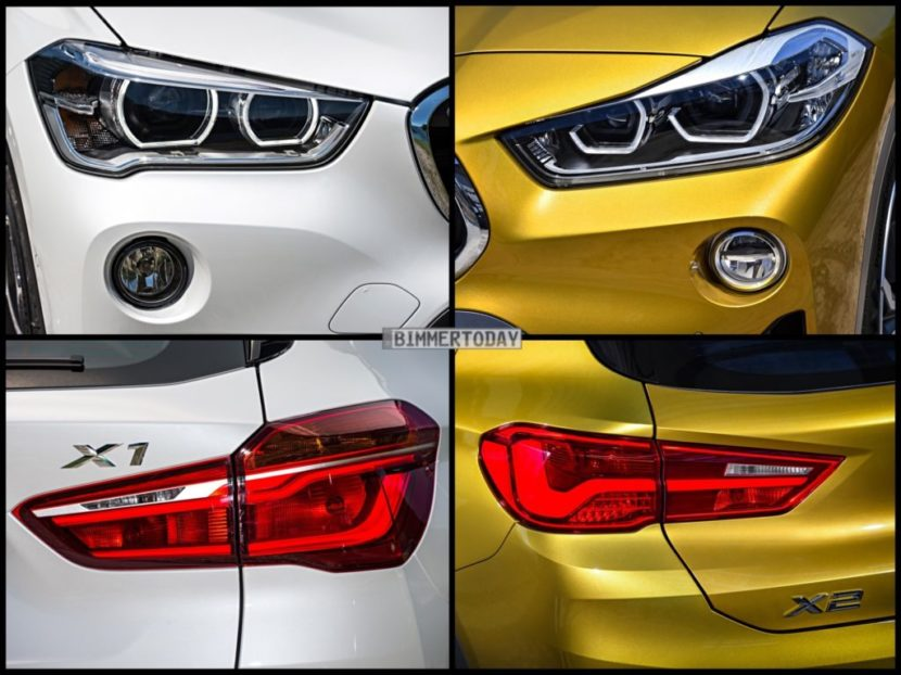 Bild Vergleich BMW X1 F48 xLine X2 F39 M Sport X 2017 05 1024x767 830x622