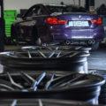 Daytona Violet BMW M4 ZCP Gets M Performance Parts And Vorsteiner Wheels Wallpaper