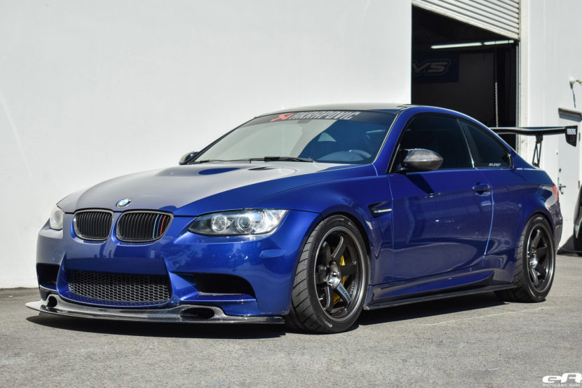 JDM Style LeMans Blue BMW E92 M3 Image 4 830x553