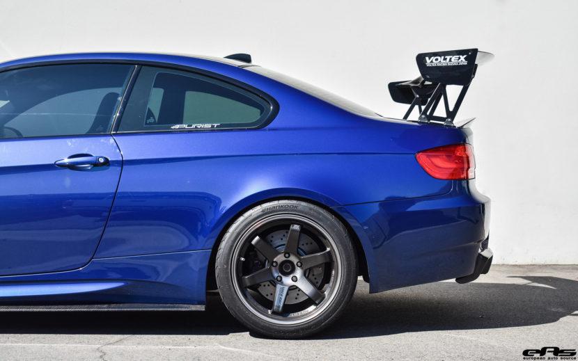 JDM Style LeMans Blue BMW E92 M3