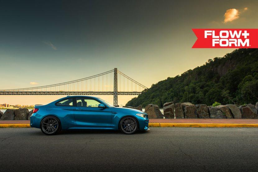Long Beach Blue BMW M2 With HRE FF04 Wheels 1 830x554