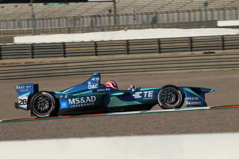 MSAD Andretti and BMW test in Valencia 06 830x553
