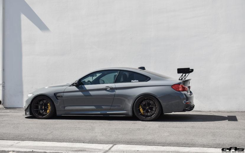 Nardo Gray BMW M4 Gets Carbon Fiber Upgrades At European Auto Source 10 830x519