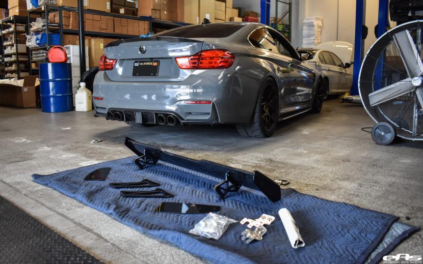 Nardo Gray BMW M4 Gets Carbon Fiber Upgrades At European Auto Source 4 830x519