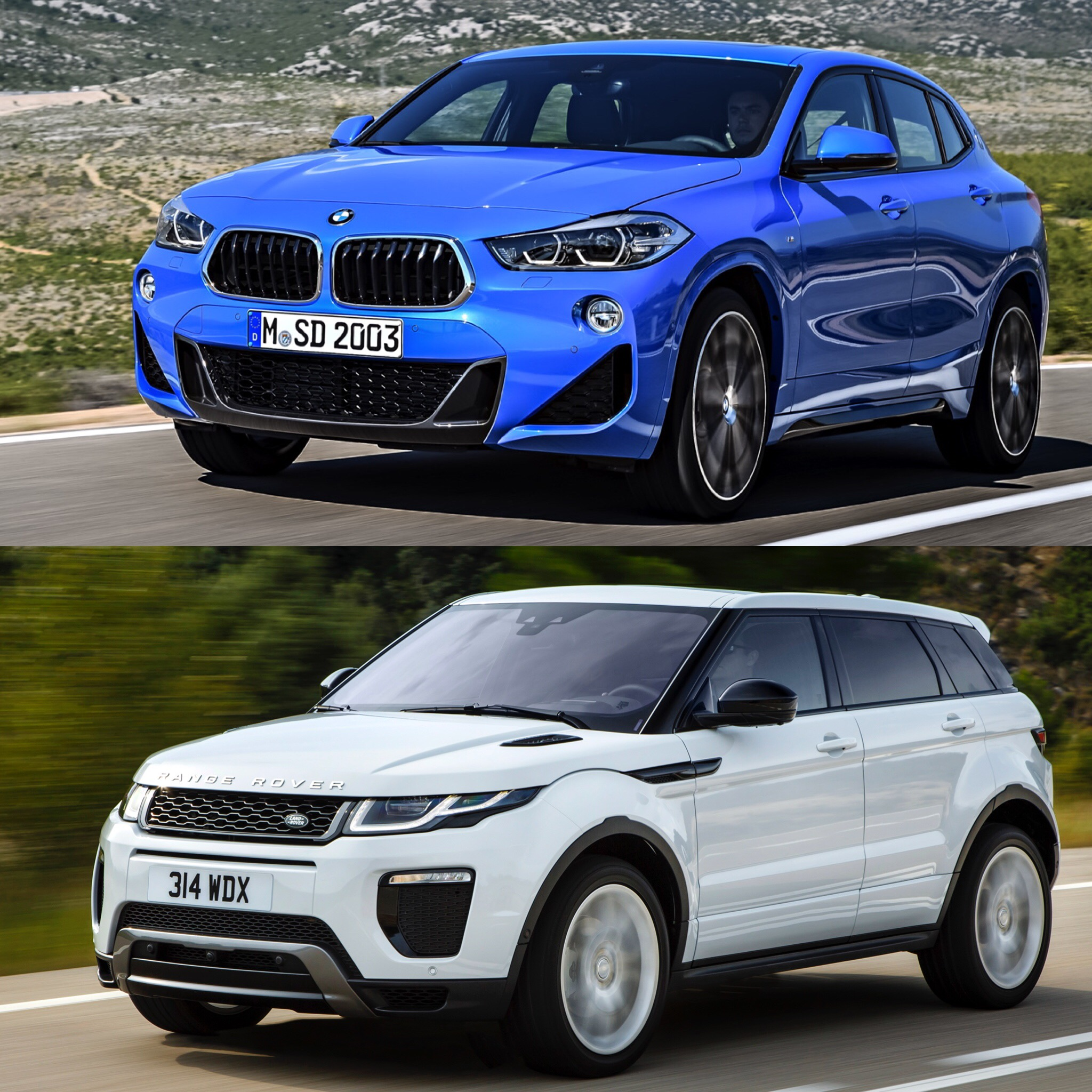 Land Rover Range Rover Evoque: Photo Comparison: BMW X2 Vs Range Rover Evoque