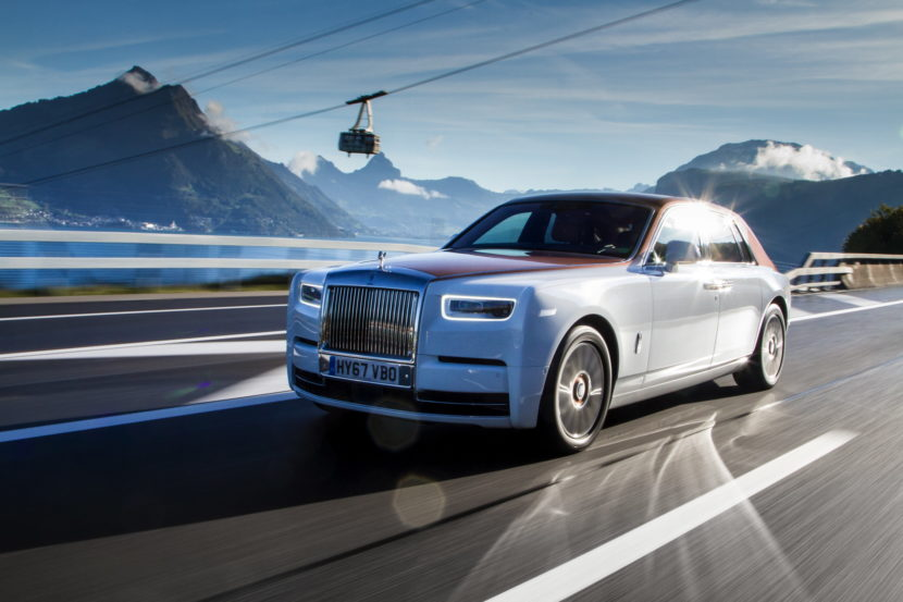 Rolls Royce Phantom VIII 86 830x553