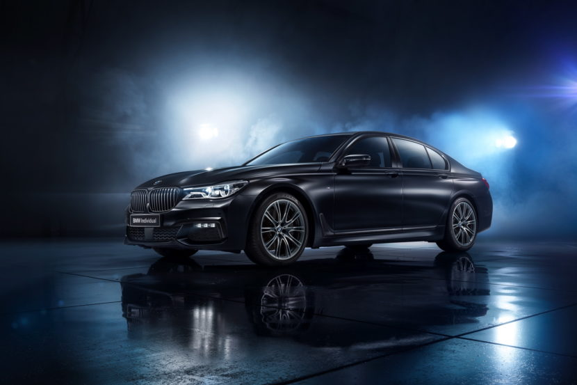 The BMW 7 Series Individual Edition Black Ice 01 830x553