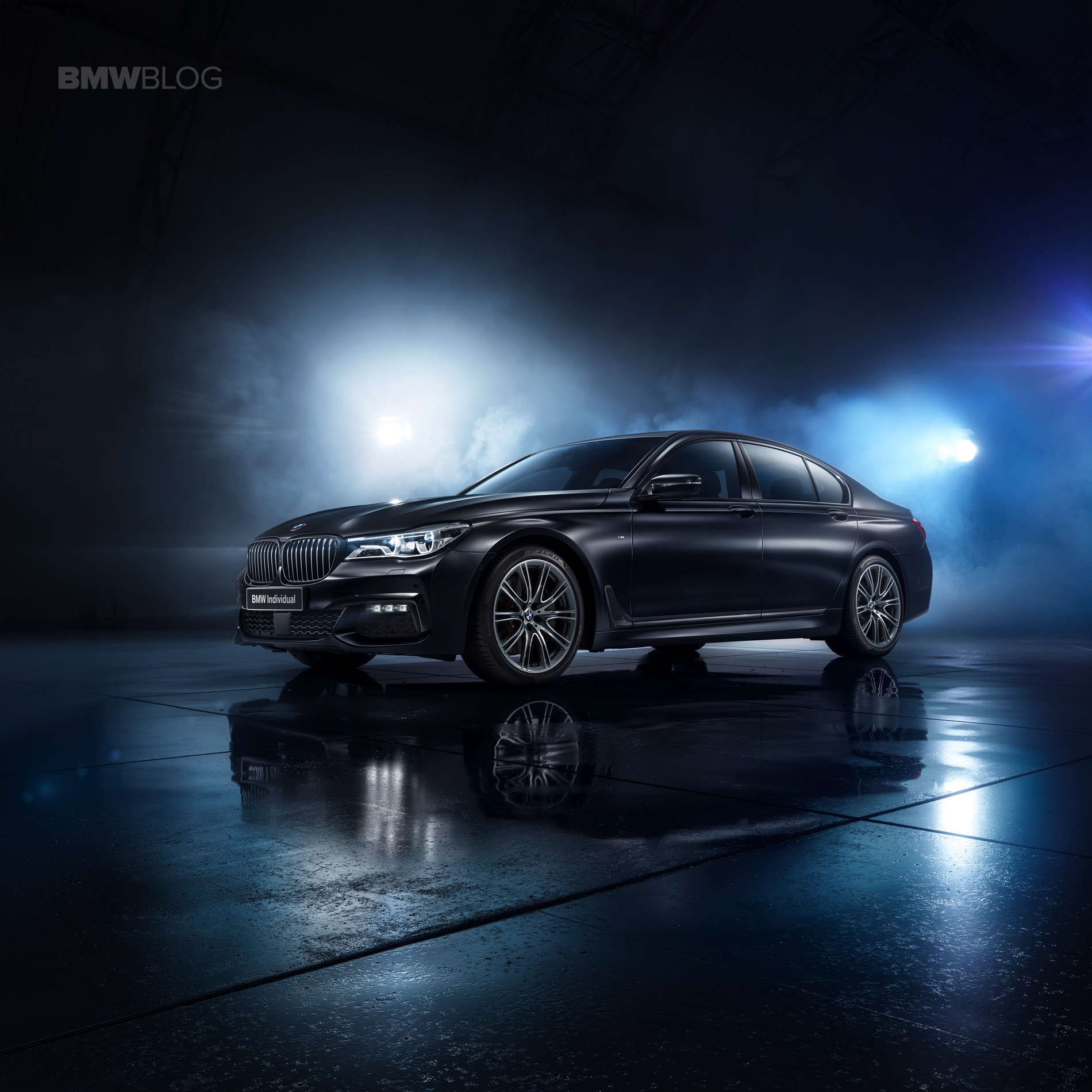 The BMW 7 Series Individual Edition Black Ice 01