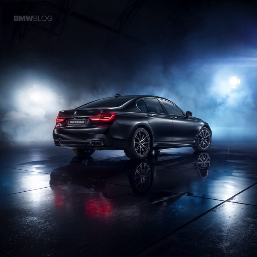The BMW 7 Series Individual Edition Black Ice 03 830x830