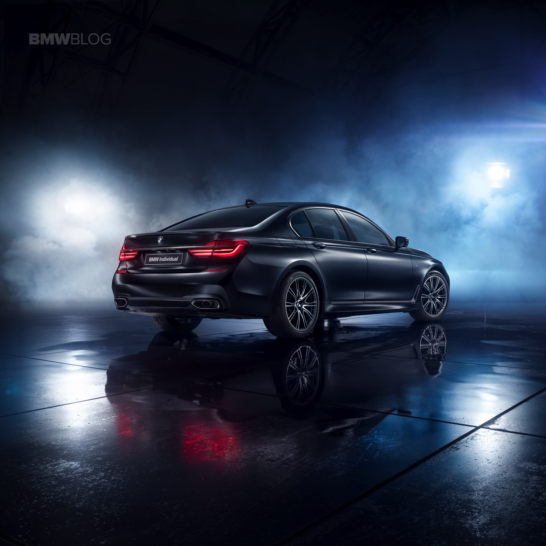 The Bmw 7 Series Individual Edition Black Ice