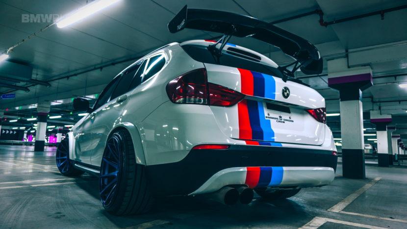 Widebody BMW X1 03 830x467