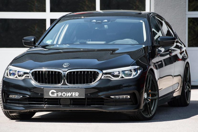 bmw 5 series by g power 830x553