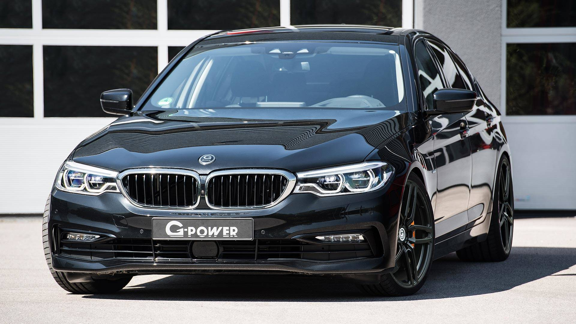 bmw 5 series by g power