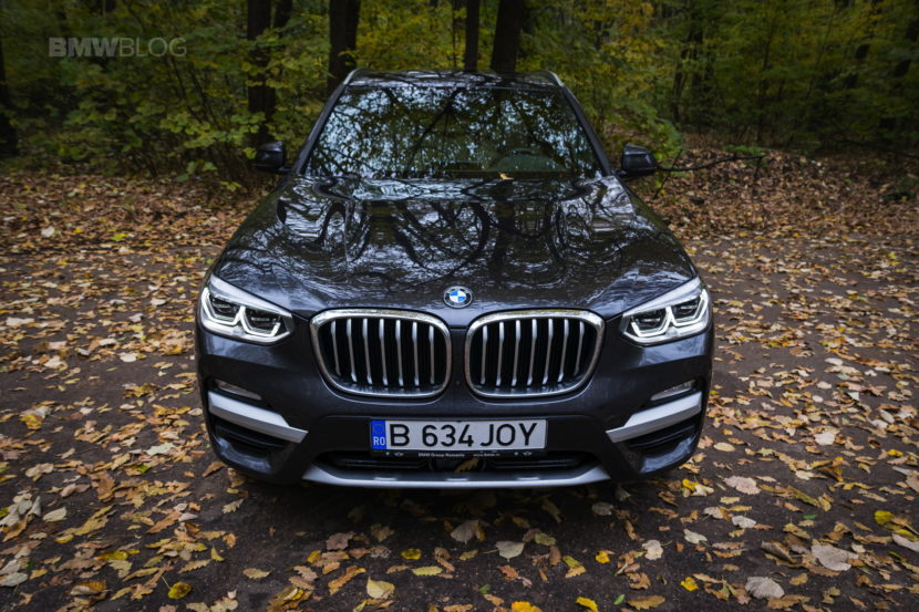 2017 BMW X3 xDrive20d test drive review 22 830x553