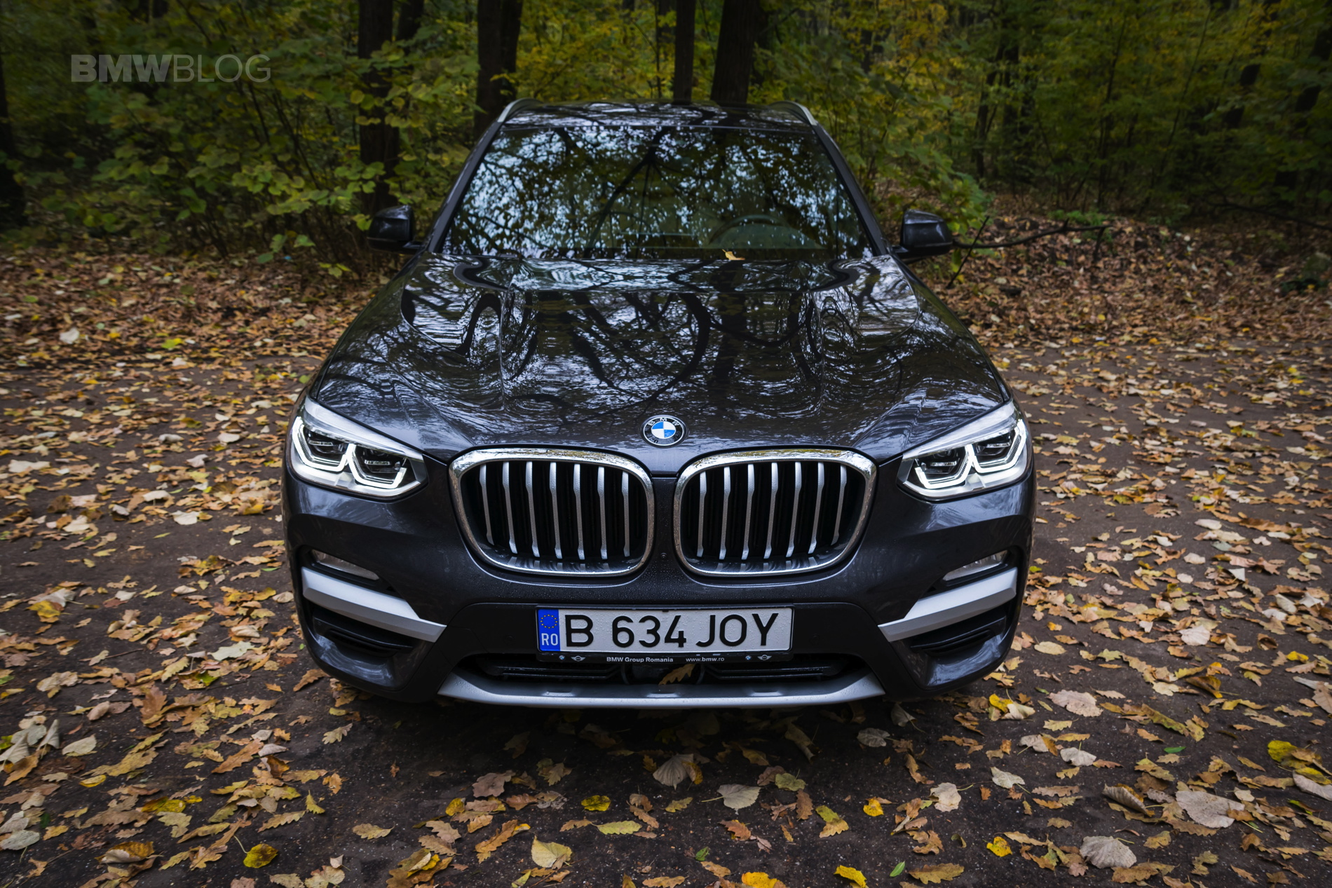 2017 BMW X3 xDrive20d test drive review 22