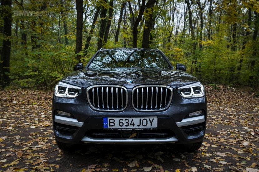 2017 BMW X3 xDrive20d test drive review 24 830x553