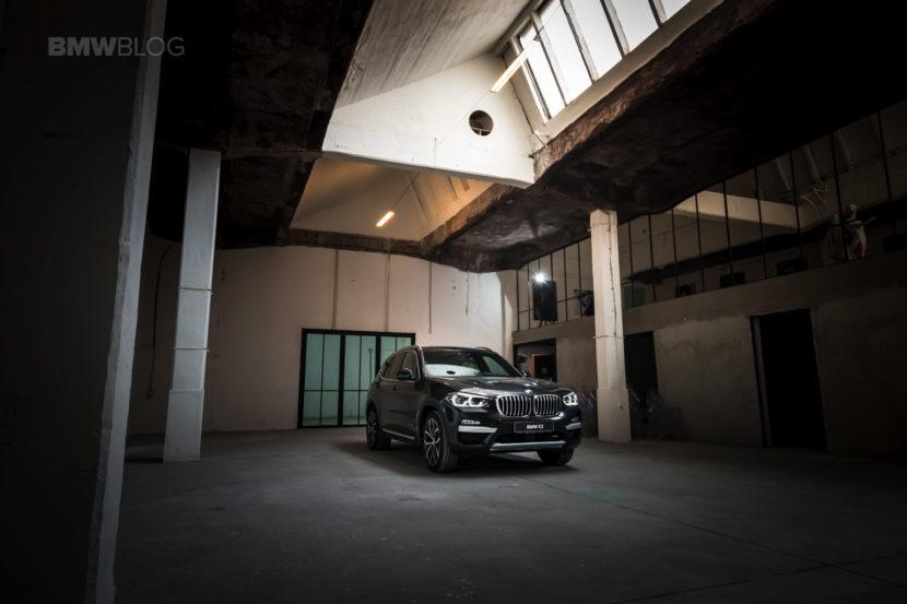 2017 BMW X3 xDrive20d test drive review 25 830x553
