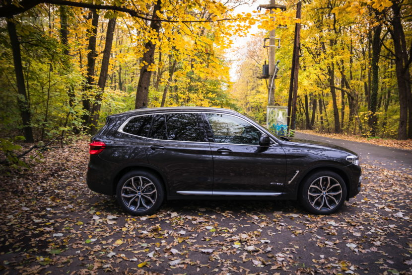 2017 BMW X3 xDrive20d test drive review 27 830x553