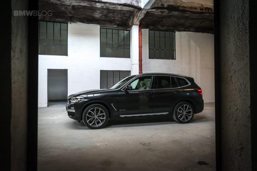 2017 BMW X3 xDrive20d test drive review 29 830x553