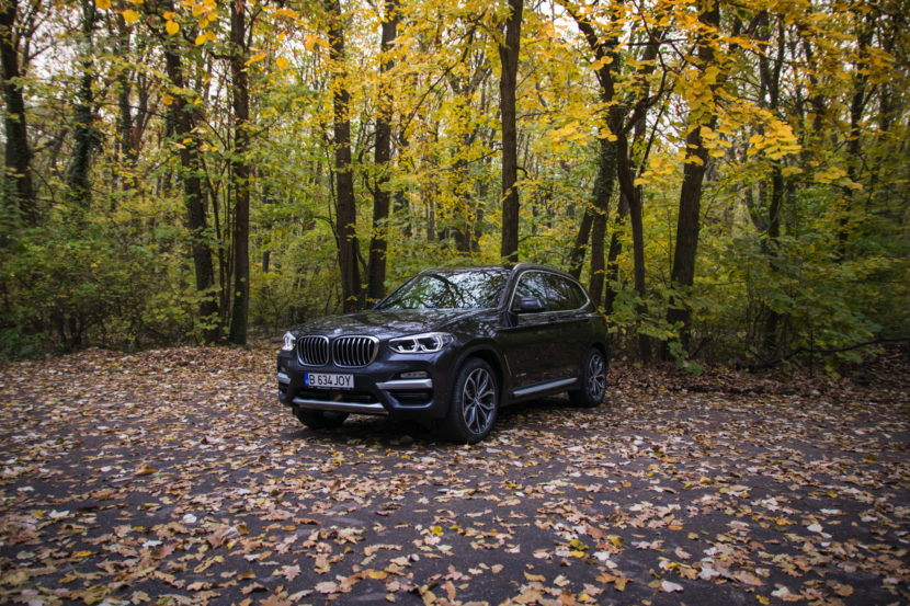 2017 BMW X3 xDrive20d test drive review 30 830x553