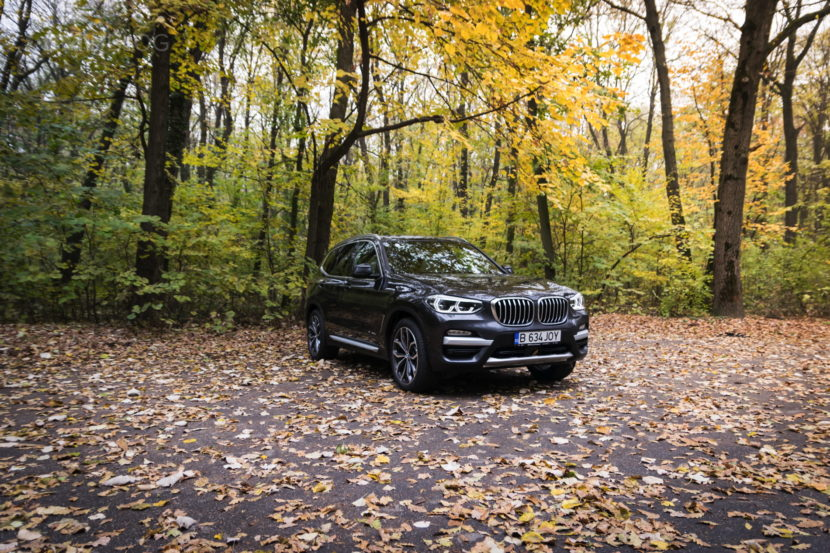 2017 BMW X3 xDrive20d test drive review 31 830x553