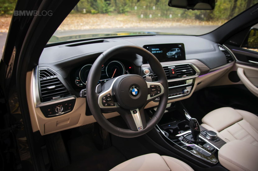 2017 BMW X3 xDrive20d test drive review 39 830x553