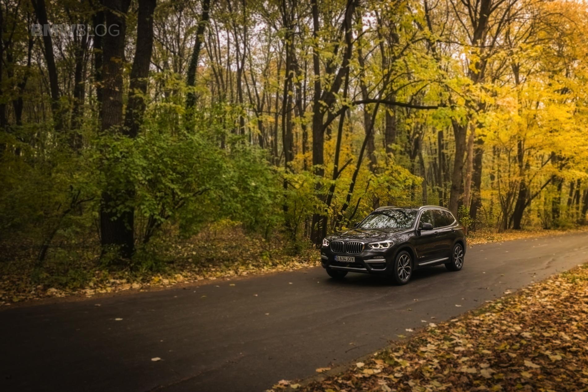 2017 BMW X3 xDrive20d test drive review 68