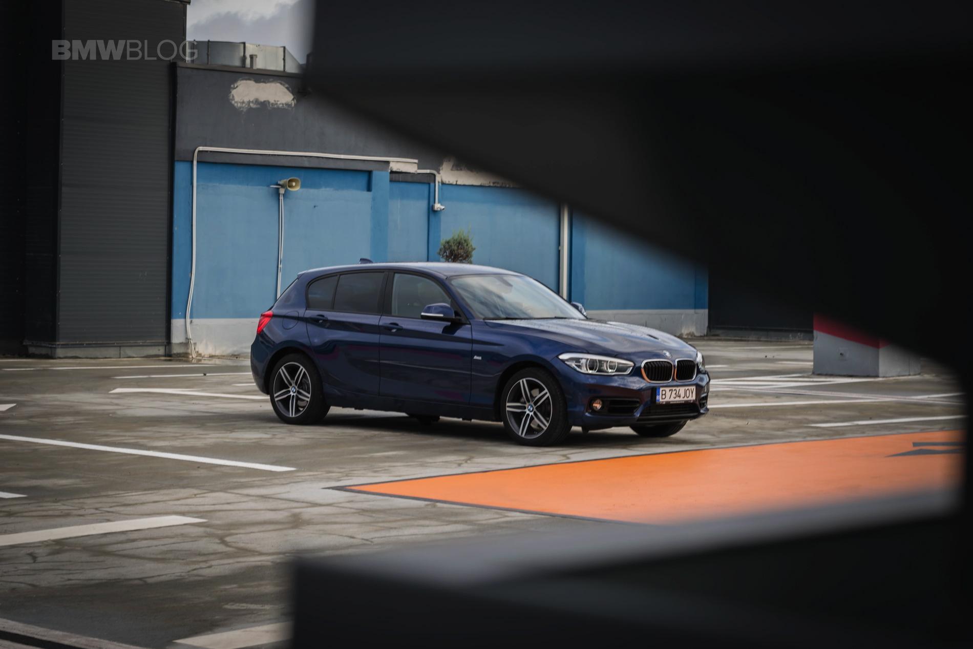 2018 BMW 118d test drive 53