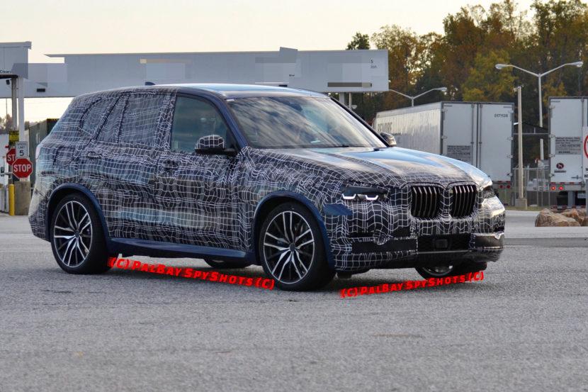 2018 BMW X5 G05 test mule 830x553