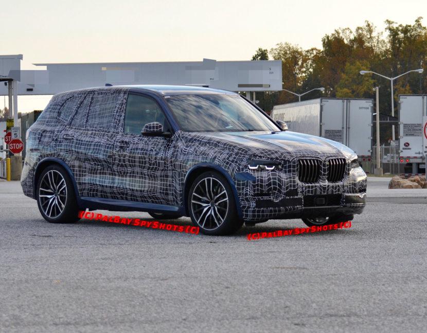 2018 BMW X5 G05 test mule 830x647