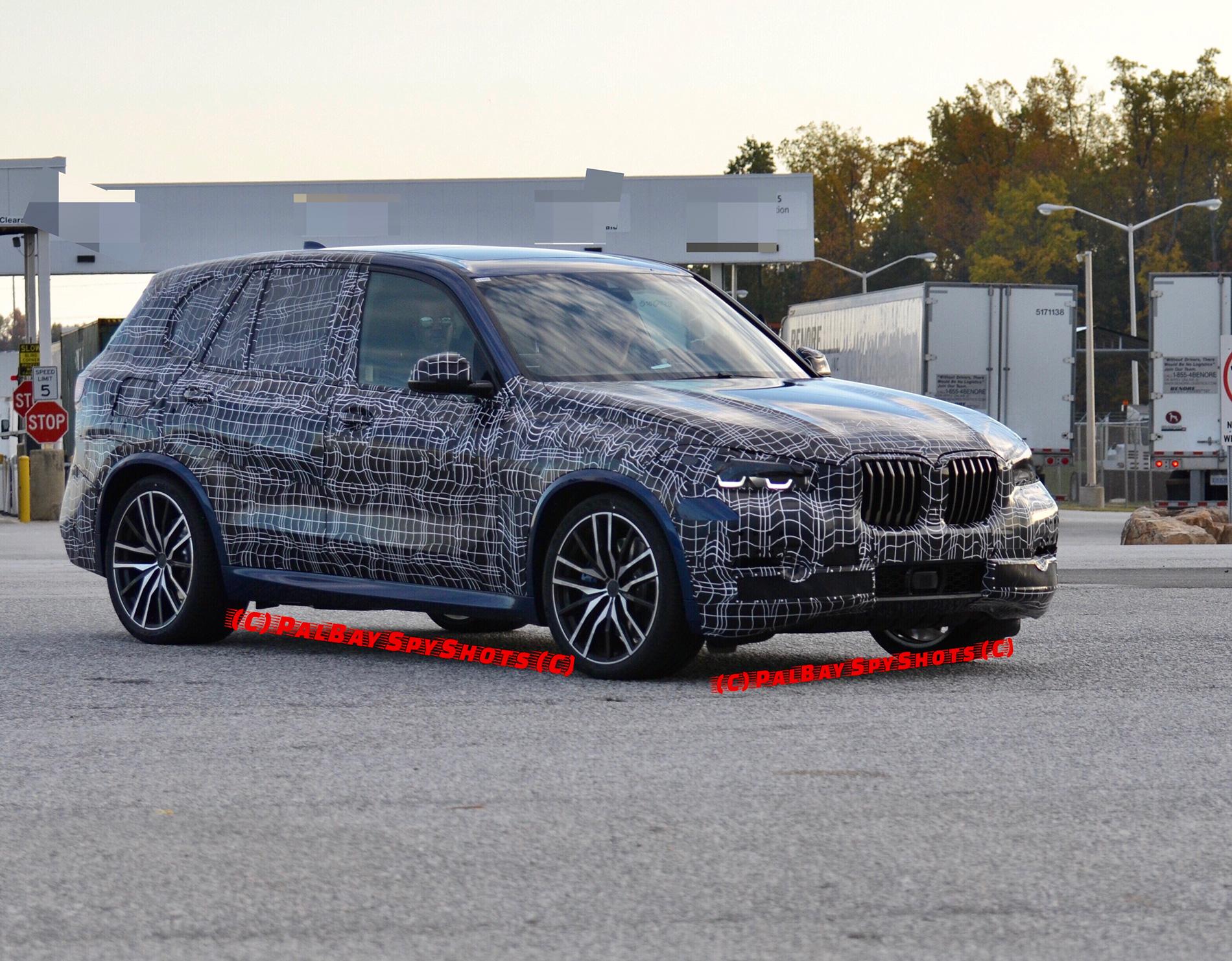 2018 BMW X5 G05 test mule