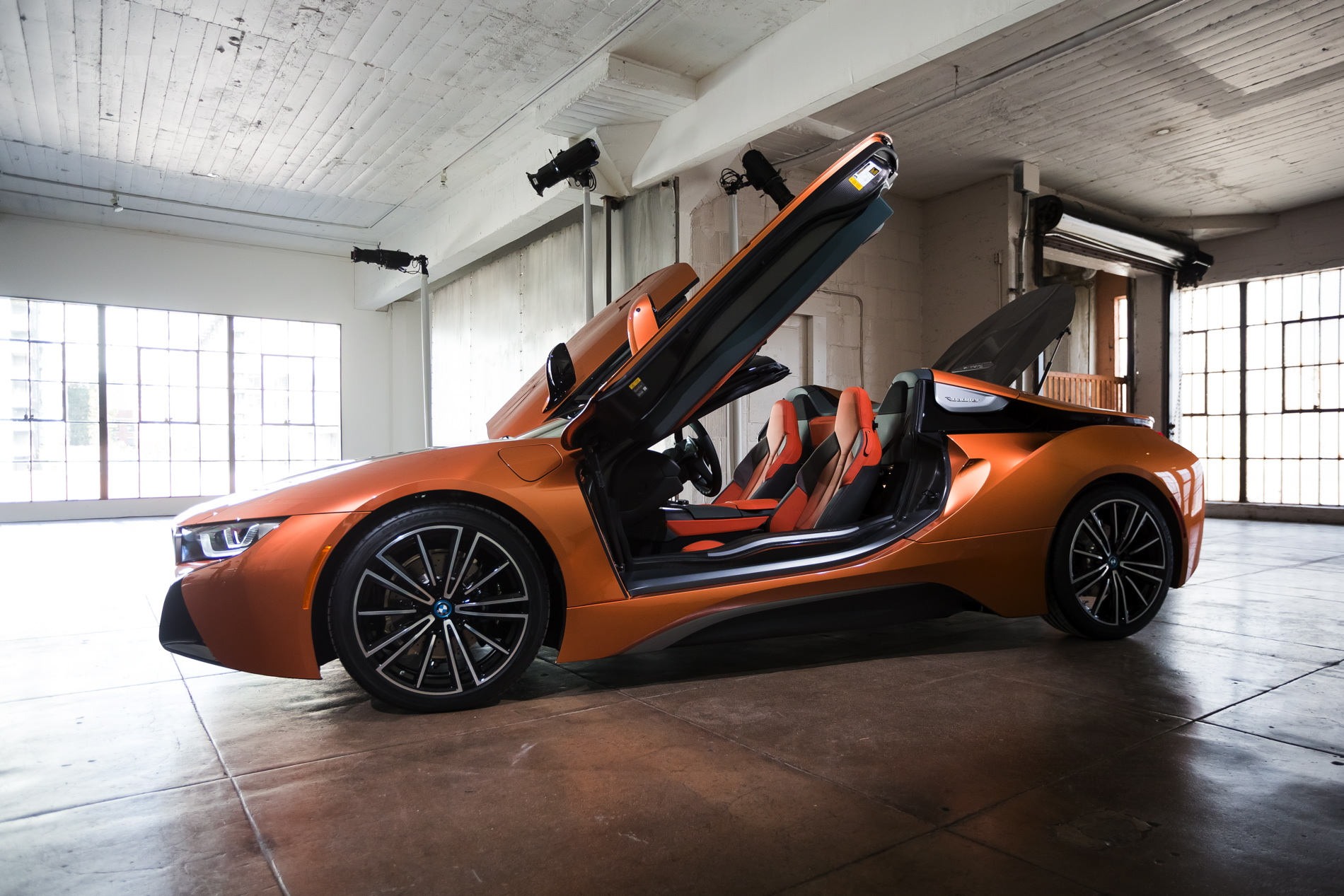 real life photos of the bmw i8 roadster. Black Bedroom Furniture Sets. Home Design Ideas