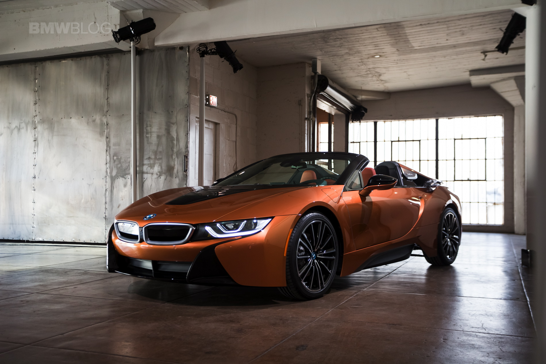 Real Life Photos Of The BMW I8 Roadster