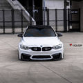Alpine White BMW M3 With Candy Blue Velos Designwerks Wheels Image 9 120x120
