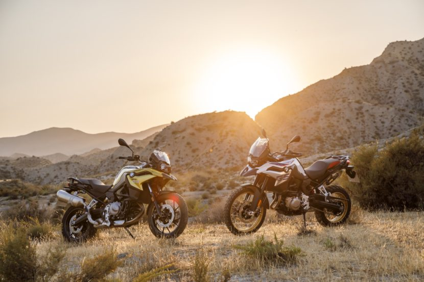 BMW F 750 GS and F 850 GS2 830x553
