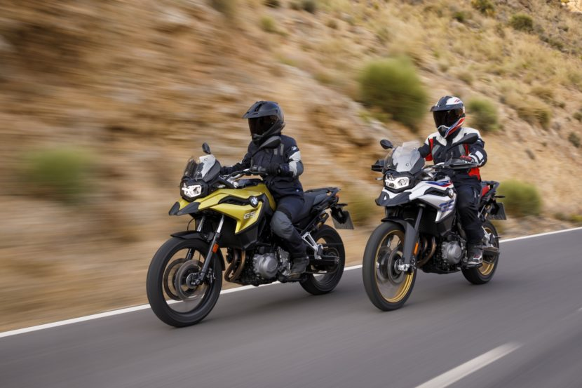 BMW F 750 GS and F 850 GS24 830x553