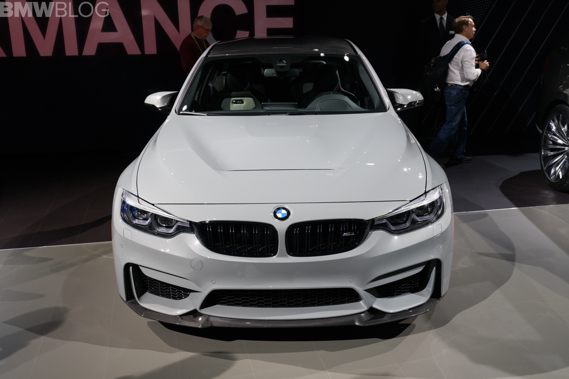 2017 La Auto Show Bmw M3 Cs Makes World Debut