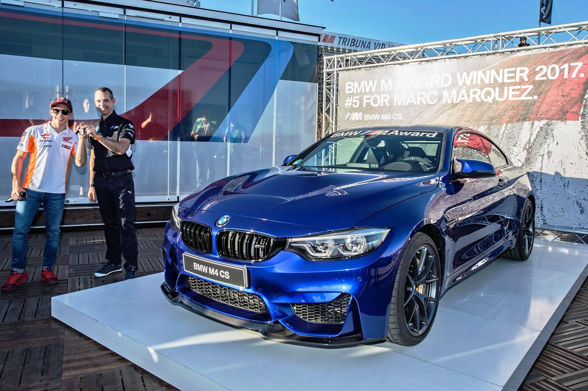 BMW M4 CS Marquez