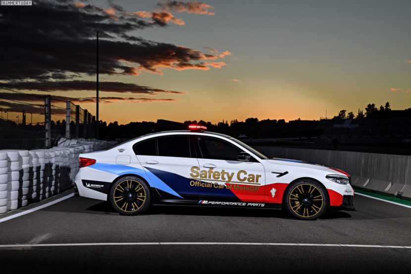 BMW M5 Safety Car 2017 MotoGP Valencia F90 10 830x553