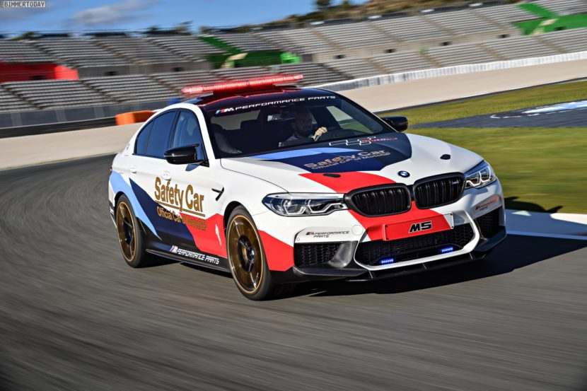 BMW M5 Safety Car 2017 MotoGP Valencia F90 18 830x553
